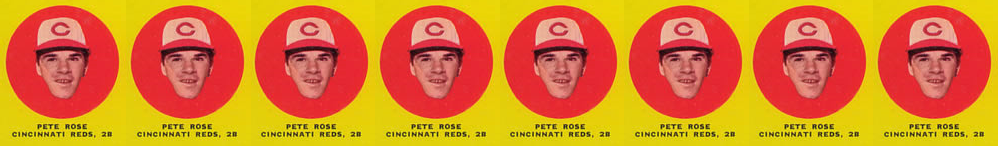 1963 Topps Pete Rose Rookie Card a Hobby Trendsetter