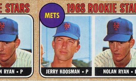 1968 Topps Nolan Ryan Rookie Card Still a Classic