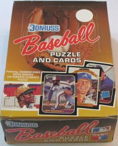 1987 Donruss Wax Box