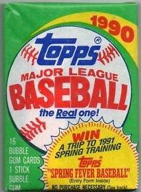 1990-Topps-Baseball-Wax-Pack