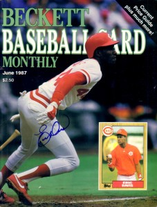 June-1987-Beckett-Baseball-Monthly-1987-Topps-Eric-Davis