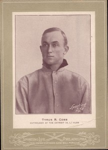 1907 Sporting Life Ty Cobb