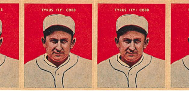 The Forgotten Ty Cobb Baseball Card — When He Was a Baker?