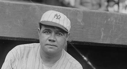 Which Was First Babe Ruth Baseball Card to Show Slugger with New York Yankees?