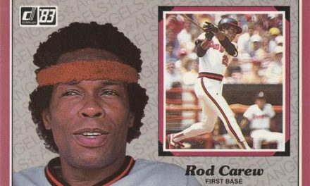 Rod Carew Baseball Cards Tug at the Heart