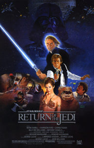 Return of the Jedi Movie Poster - 1983