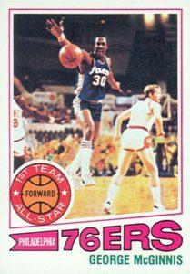 1977 Topps George McGinnis