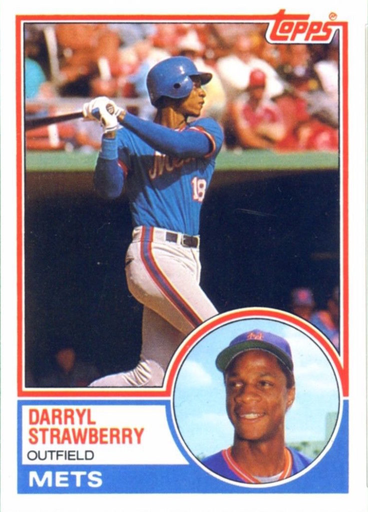 1983 Topps Traded Darry Strawberry (#108T)