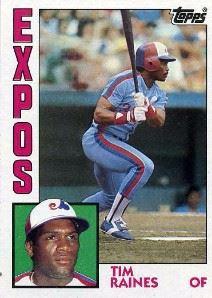 1984 Topps Tim Raines (#370)