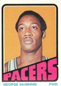 1972-73 Topps George McGinnis Rookie Card