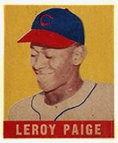 1948 Leaf Satchel Paige
