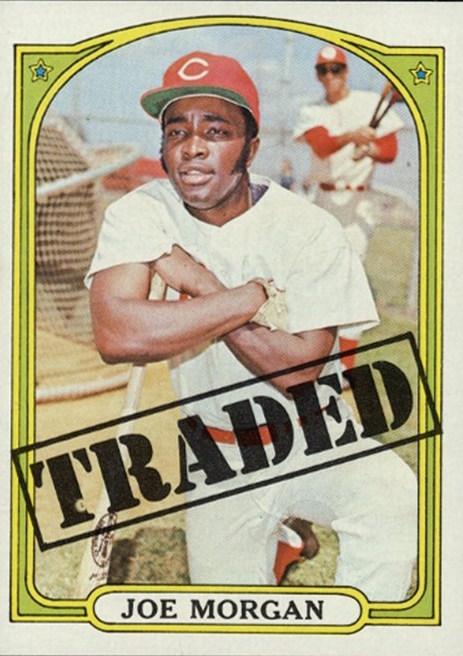 1972 Topps Traded Joe Morgan