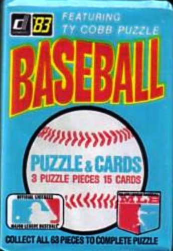 1983 Donruss Wax Pack