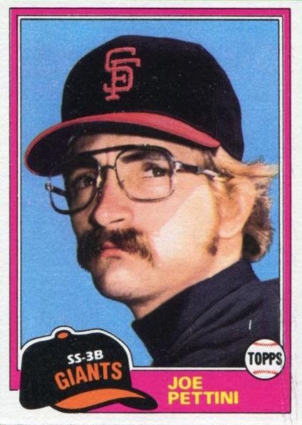 1981 Topps Joe Pettini