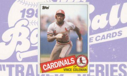 1985 Topps Traded Vince Coleman Was a Firecracker Budget-Breaker