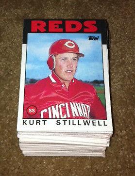 1986 Topps Traded Kurt Stillwell lot