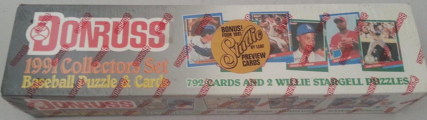 1991 Donruss Complete Set