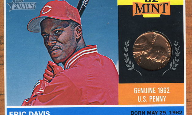 Why Eric Davis Is No Ordinary Relic: 2011 Topps Heritage '62 Mint