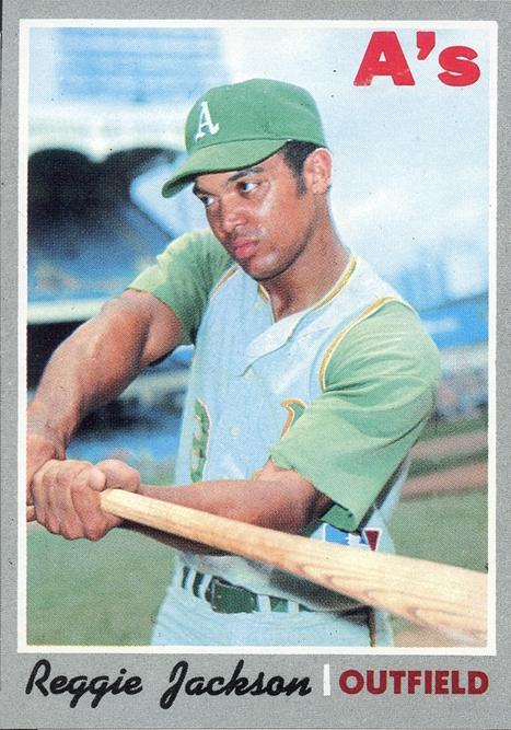 1970 Topps Reggie Jackson
