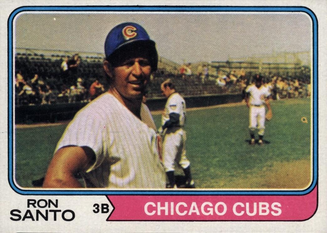1974 Topps Ron Santo