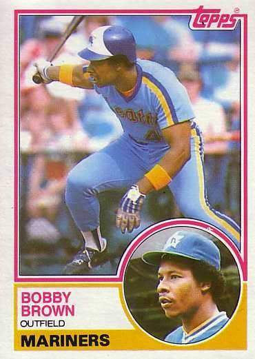 1983 Topps Bobby Brown