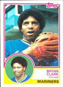 1983 Topps Bryan Clark