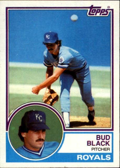 1983 Topps Bud Black
