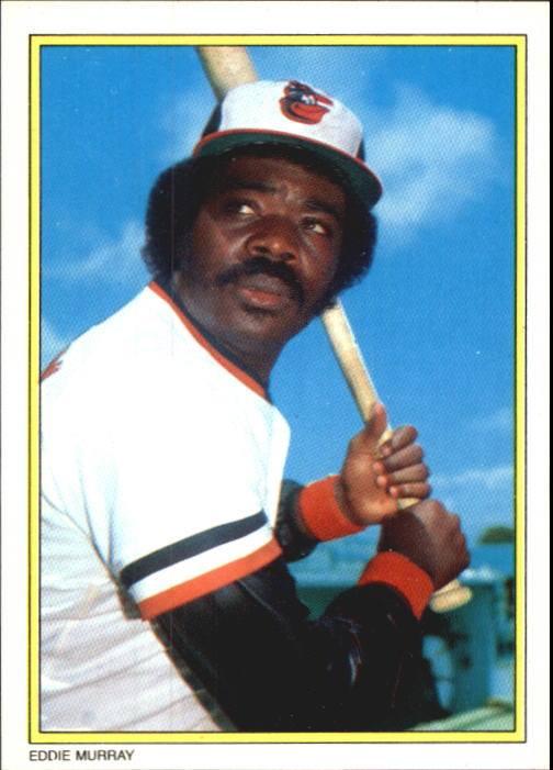 1983 Topps Eddie Murray Glossy Send-In