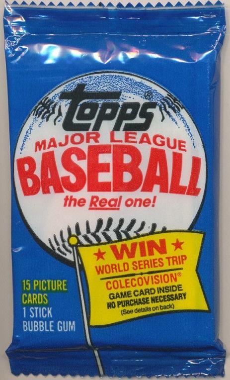1983 Topps Michigan Wax Pack