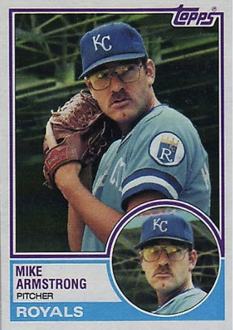 1983 Topps Mike Armstrong