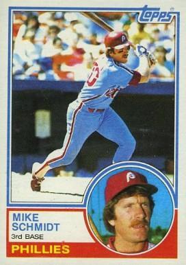 1983 Topps Mike Schmidt (#300)