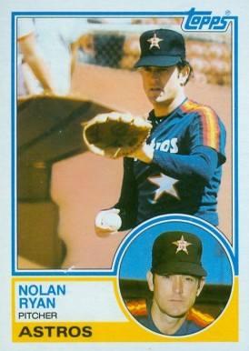 1983 Topps Nolan Ryan