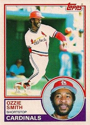 1983 Topps Ozzie Smith