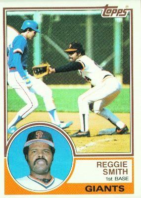 1983 Topps Reggie Smith