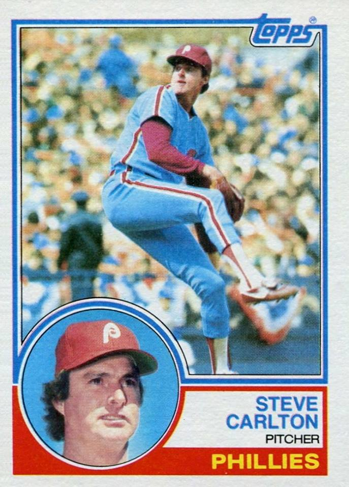 1983 Topps Steve Carlton