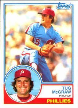 1983 Topps Tug McGraw