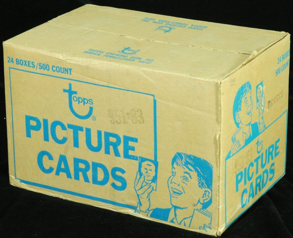 1983 Topps Vending Box