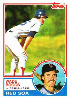 1983 Topps Wade Boggs