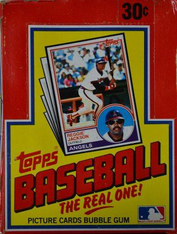 1983 Topps Wax Box