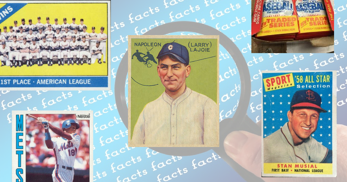 51 Amazing Facts You Probably Didn't Know About Baseball Cards