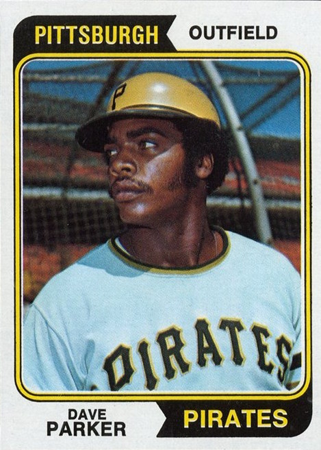 1974 Topps Dave Parker