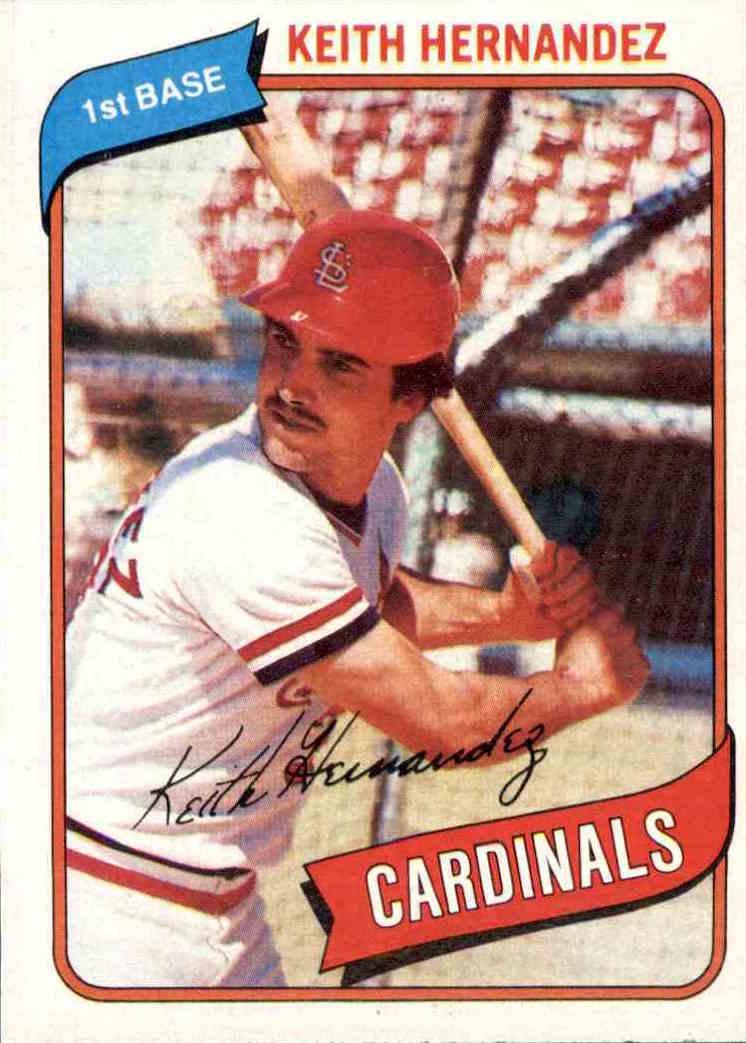 1980 Topps Keith Hernandez