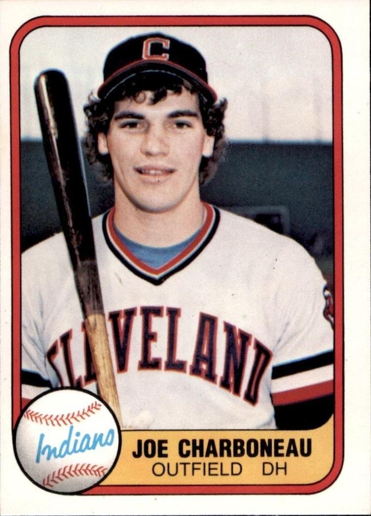 1981 Fleer Joe Charboneau