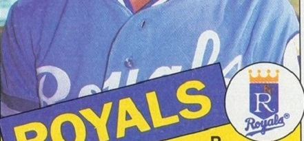 The Best Baseball Card of 1985 Was as Unlikely as Game 7