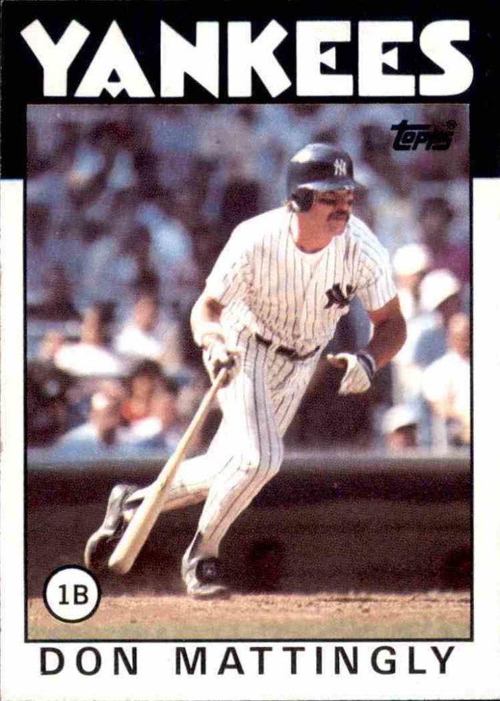 1986 Topps Don Mattingly