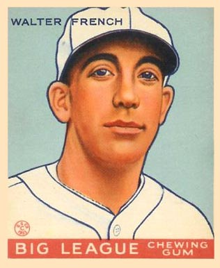 1933 Goudey Walter French