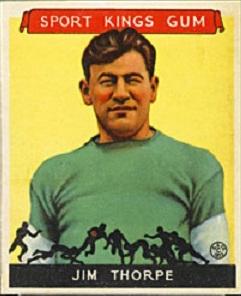 1933 Sport Kings Jim Thorpe