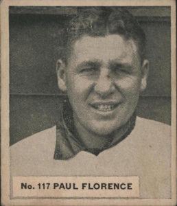 1936 World Wide Gum Paul Florence