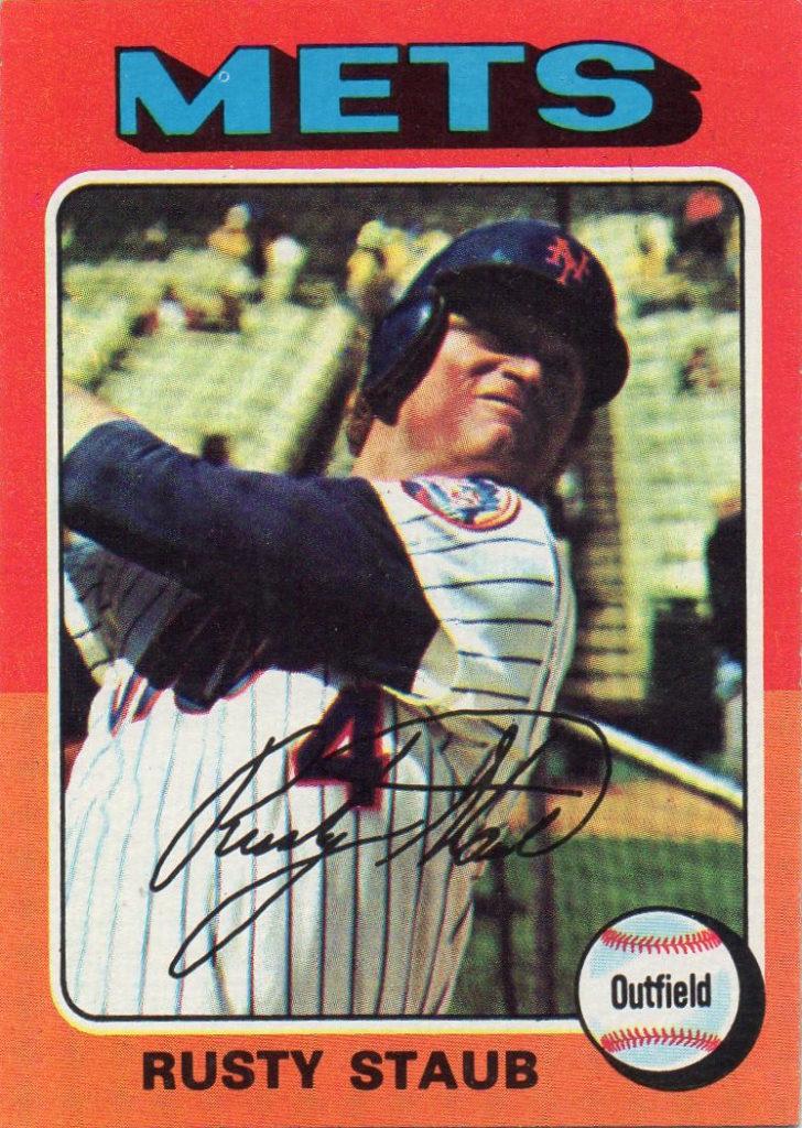 1975 Topps Rusty Staub