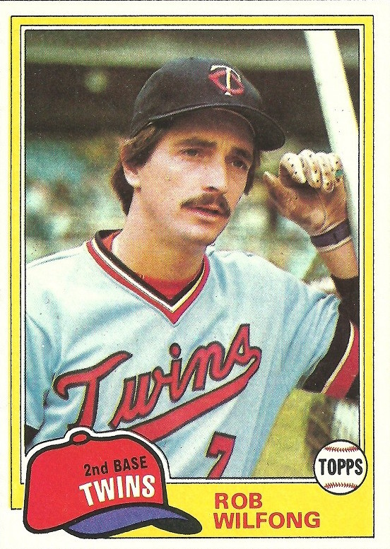 1981 Topps Rob Wilfong
